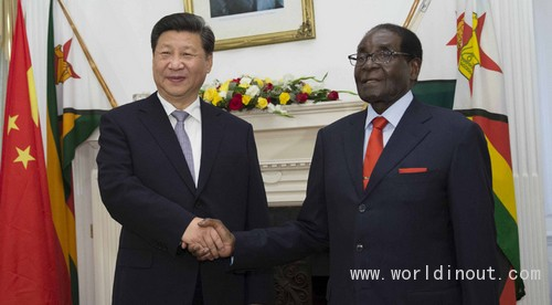 Chinese President Concludes Visit to Zimbabwe