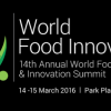 14th Annual Global Food Technology & Innovation Summit 2016